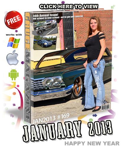 Gauge Magazine Issue - January 2013