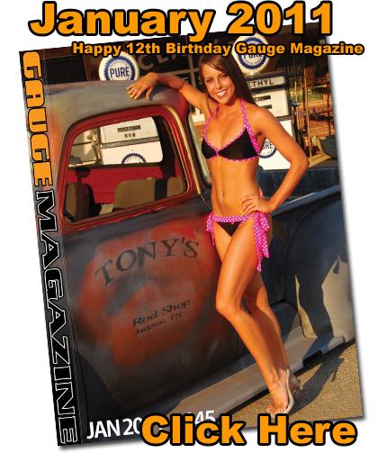 Gauge Magazine Issue - January 2011