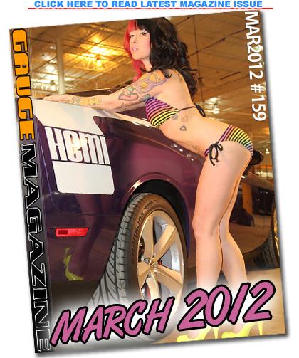 Gauge Magazine Issue - March 2012