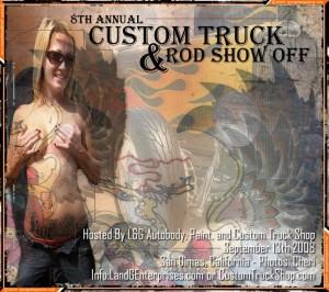 8th Annual Custom Truck & Rod Show Off