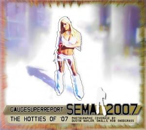 SEMA 2007 Hotties