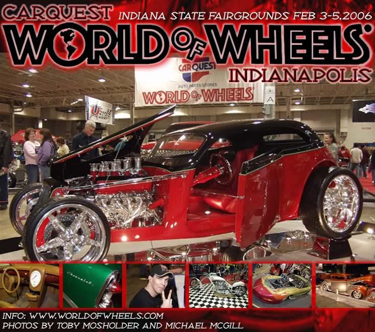 Indianapolis World Of Wheels Gauge Magazine - Car show indiana state fairgrounds