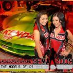 The Models of SEMA 2009