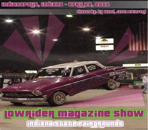 Lowrider Magazine Show 2002