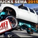 4x4 Trucks of SEMA 2015