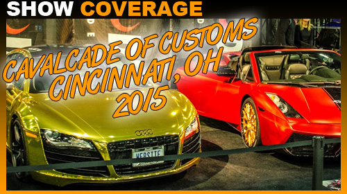 Cincinnati Car Show: Cavalcade Of Customs Cincinnati 2015