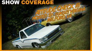 Attitude Check III Car Show