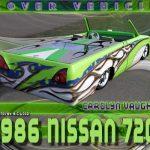 1986 Nissan 720 Custom
