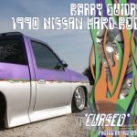 1990 Nissan Hard Body Dropped