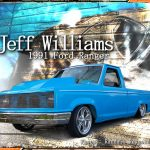 1991 Blue Ford Ranger Custom