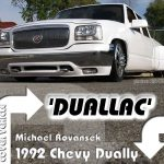 1992 Chevy Dually Dropped