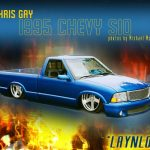 1995 Chevy S-10 Dropped