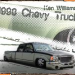 1998 Chevy Dually Truck Lowered