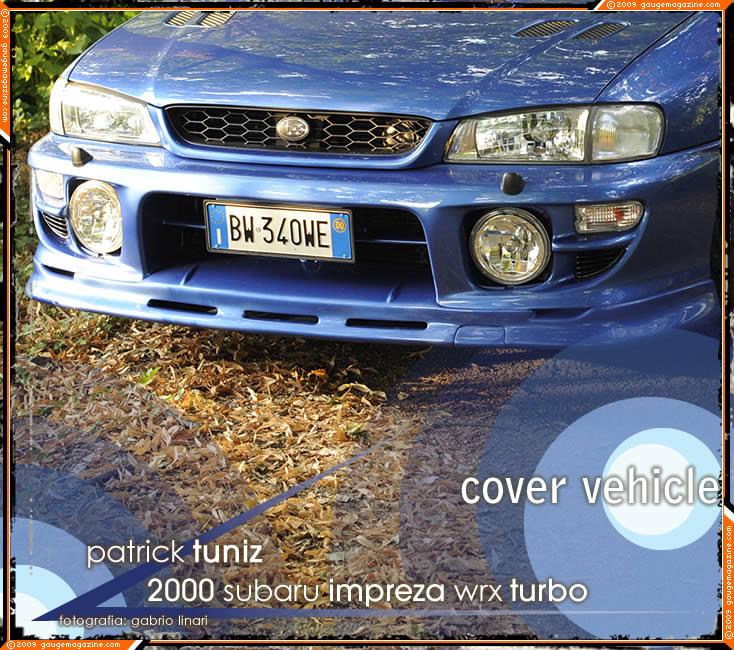 2000 subaru impreza wrx turbo gauge magazine gauge magazine