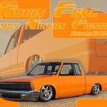 1985 Nissan Pickup Dropped