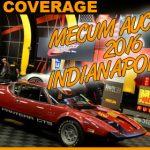 Mecum Auto Auction Indianapolis 2016