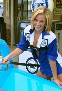 Gauge Girl Holly Ann Hullender July 2007