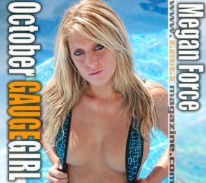 Gauge Girl Megan Force October 2010
