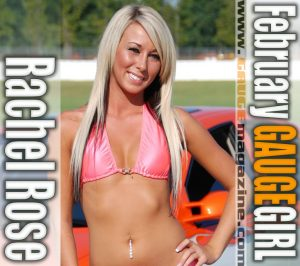 Gauge Girl Rachel Rose February 2009