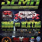 SEMA Kick Off party 2016 Gauge Magazine Award