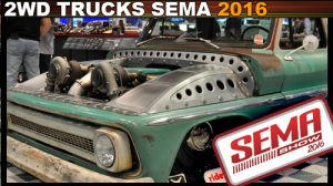 Trucks of SEMA 2016 sema photos