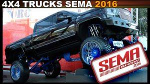 4x4 SEMA 2016 sema photos