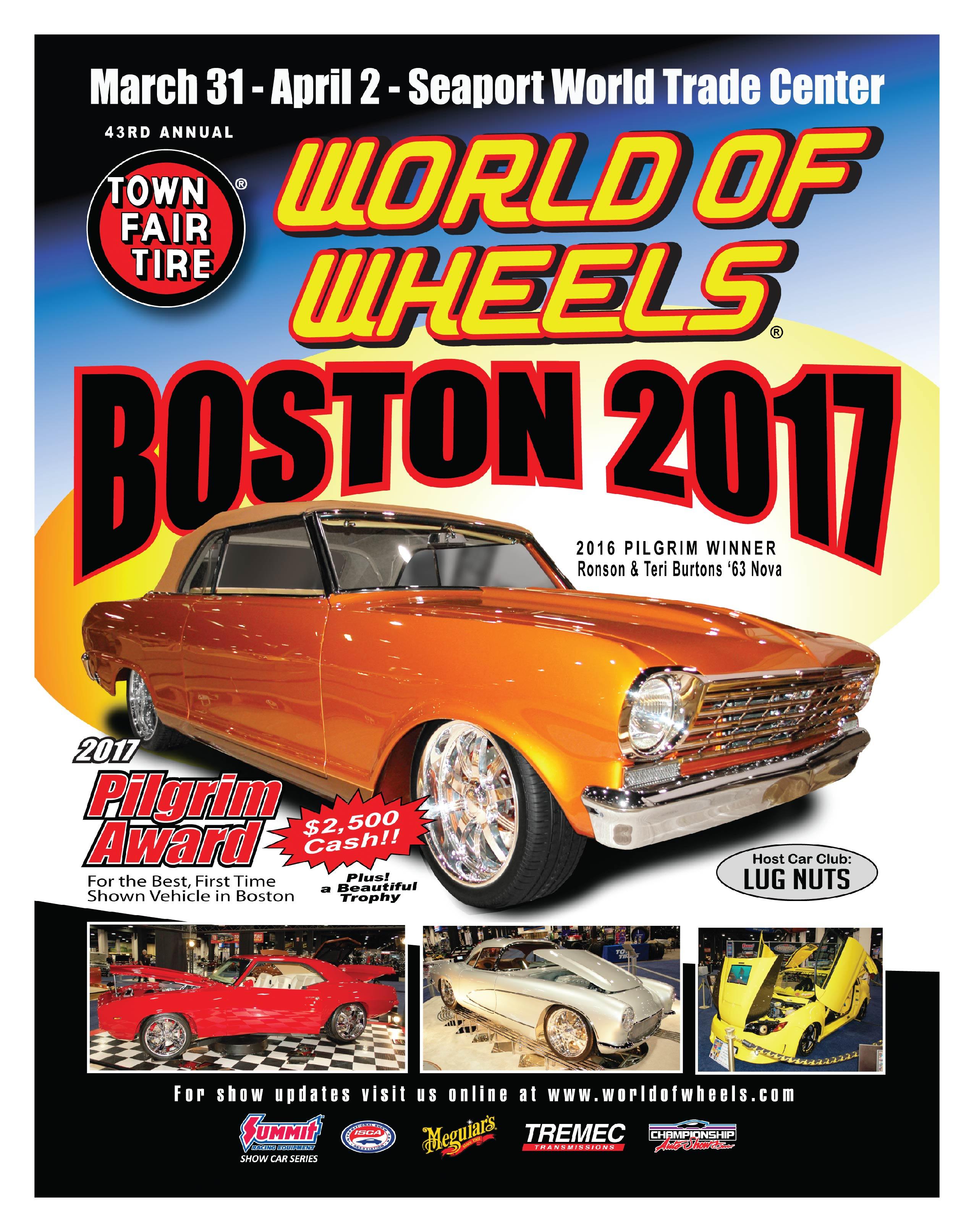 World Of Wheels Boston >> Boston World Of Wheels 2017 At Seaport World Trade Center