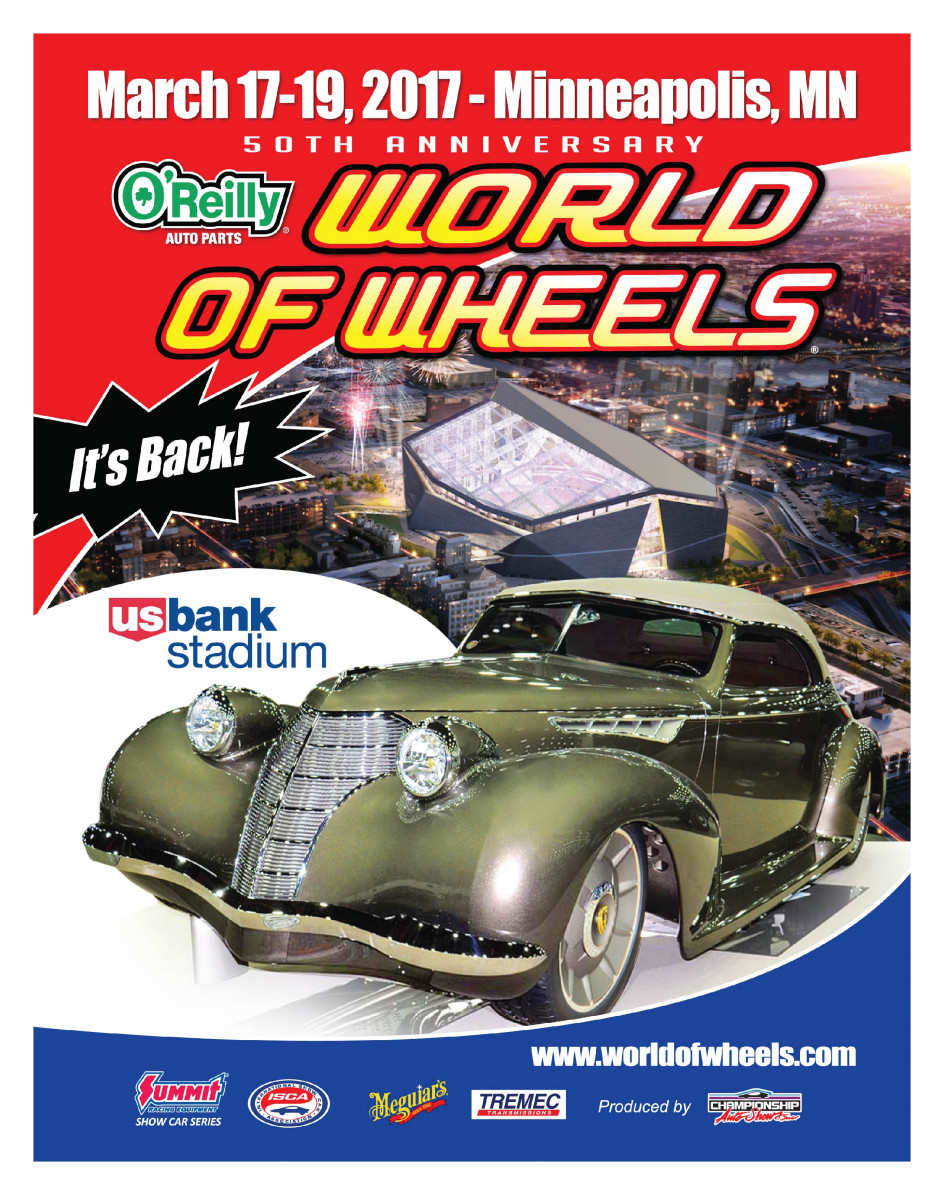 50th O'Reilly Auto Parts World of Wheels