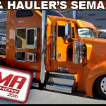 Semis and Haulers at SEMA 2016