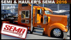 Semis and Haulers from SEMA 2016 sema photos