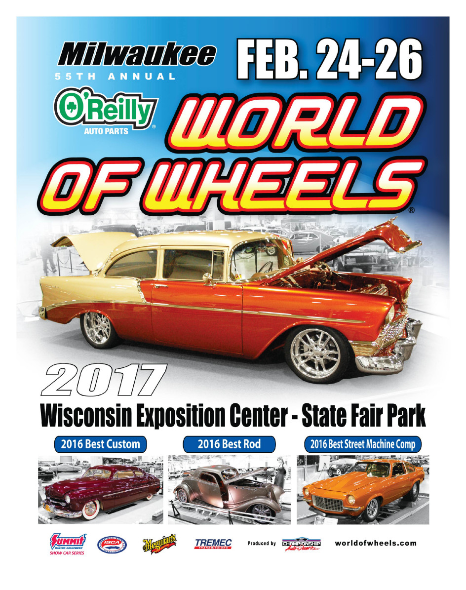 55th Annual O\'Reilly Auto Parts World of Wheels located in Milwuakee, WI