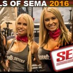 Hotties and Models SEMA 2016