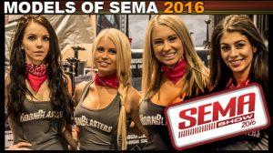 models sema 2016