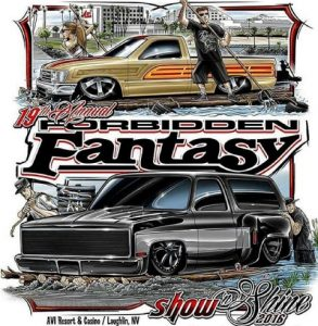 Forbidden Fantasy Show and Shine 2016 Flyer