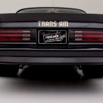 Burt Reynolds personal Trans AM rear photo