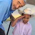 Burt Reynolds with boy