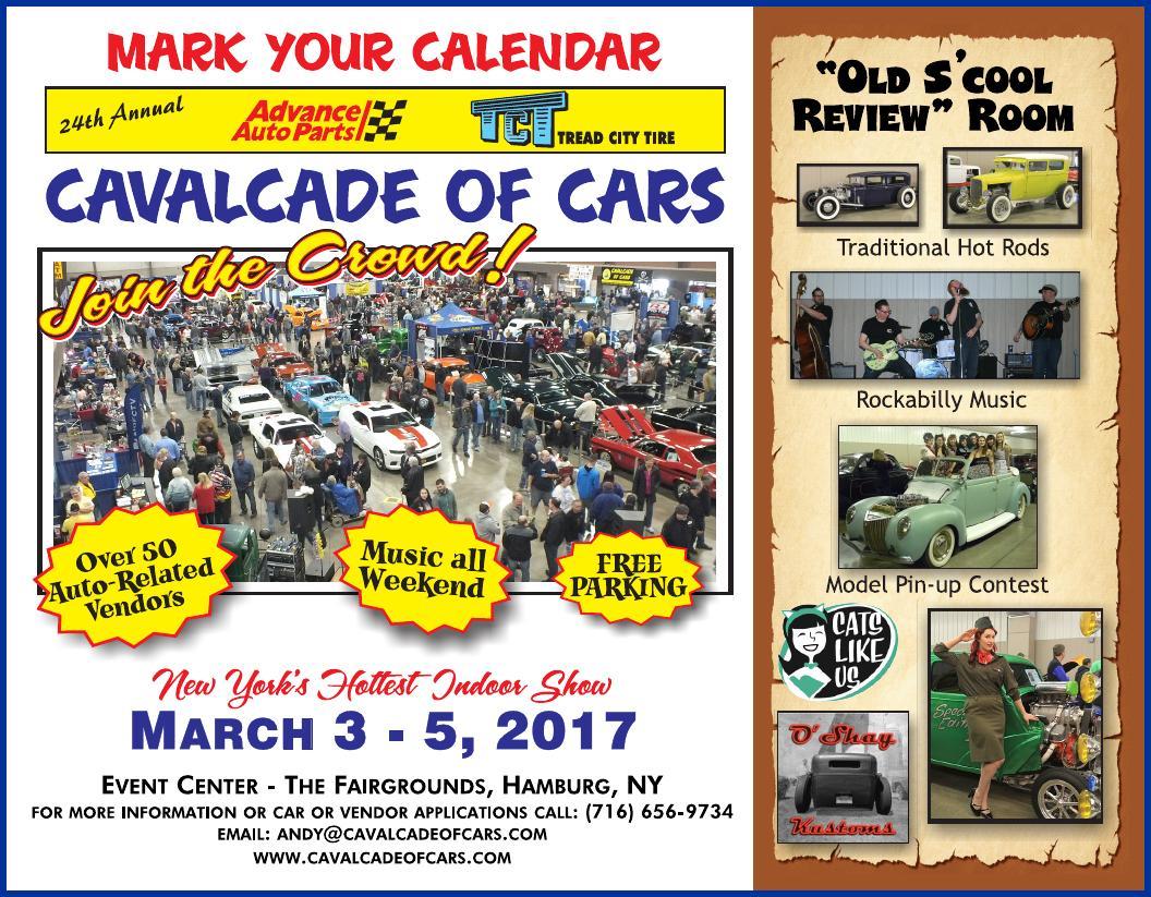 24th Annual Advance Auto Parts–Tread City Tire Cavalcade of Cars ...