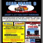 Gear Heads 9 Car, Truck, and Bike Show Festival