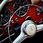 vintage mercedes steering wheel