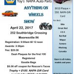 Anything on Wheels Show 2017