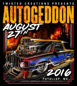 Autogeddon 2016 Flyer