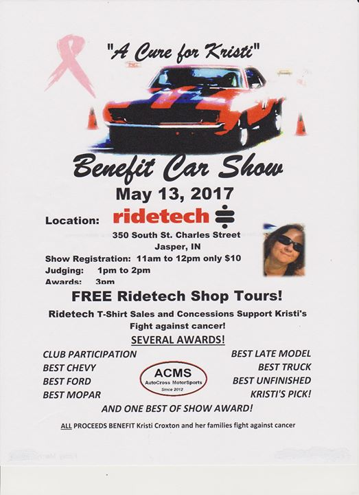 Cure for Kristi Benefit Car Show 2017