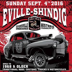 Eville Shindig 2016 held in Evansville, Indiana