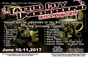 Slamology 2017 Tattoo Contest
