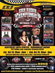 car audio championship 2017