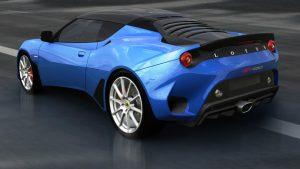 lotus evora gt430 rear shot