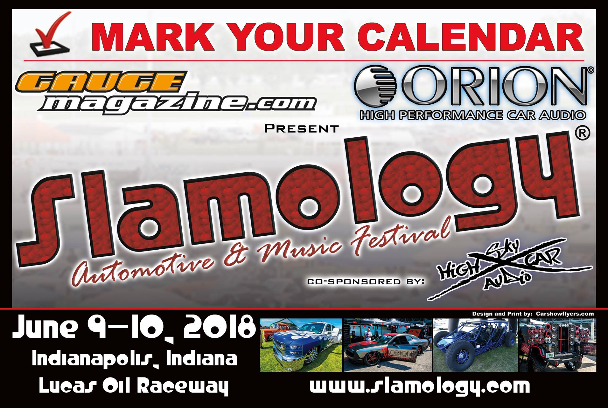 15th Annual Slamology Automotive And Music Festival Gauge