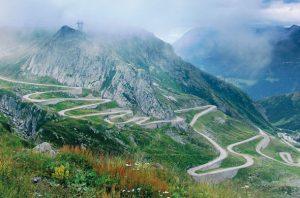 beautiful roads europe
