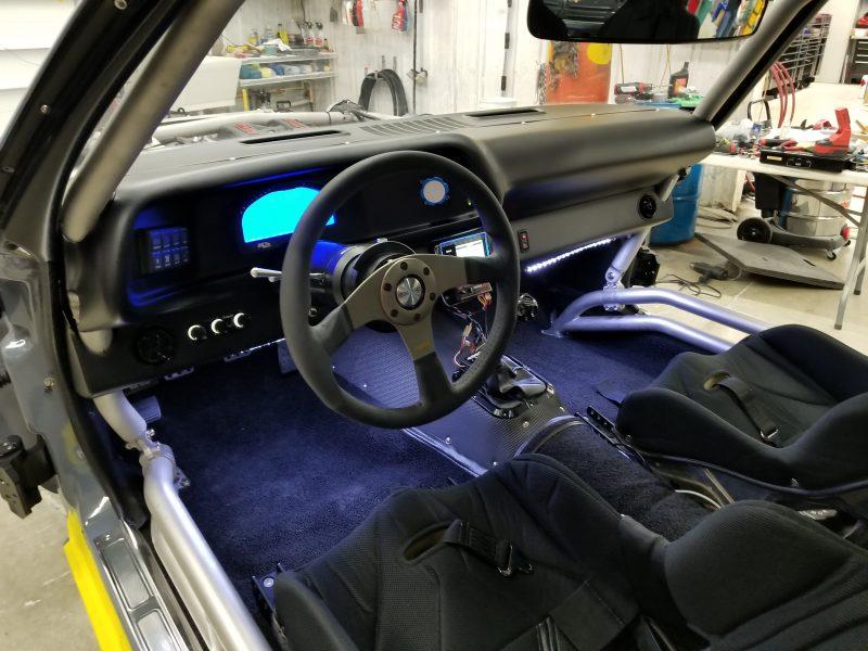 track 1 camaro interior