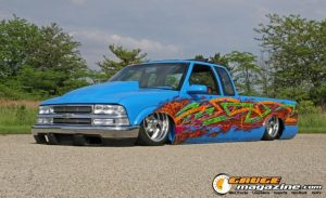 1995 Chevy S10 owned by Derek Wymer